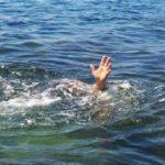 En ufrivillig badetur i koldt vand