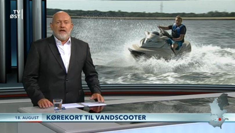 Kørekort til vandscooter – TV2 Øst